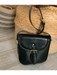 Pony flap mini crossbody bag