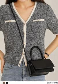 Leatherette Mini Sling Bag