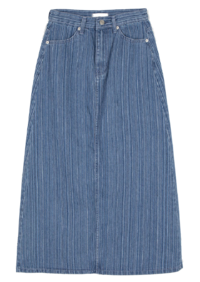 Deeper striped maxi skirt