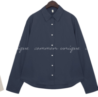 BODA BASIC UNBAL COTTON SHIRTS