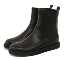 Wide Gusset Chelsea Boots
