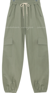 CUPPEN CARGO JOGGER PANTS