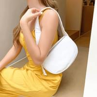 Multi pleated mini shoulder bag 4color