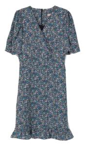 Weir Blooming Midi Dress
