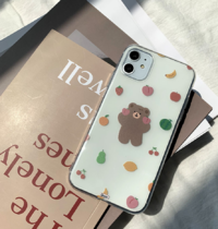 Fruity Fruit Bear iPhone Case