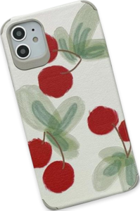 Cherry oil painting iphone case