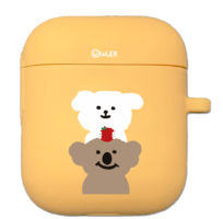 Sommoong Apple Koala Silicone AirPods Case
