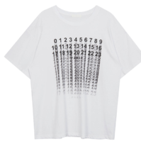Number Loose Fit T-Shirt