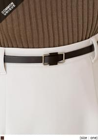 SLIM OBLONG FRAME BELT