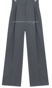 Pleated Loose Fit Slacks