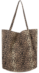 Leopard Cotton Eco Bag 帆布包
