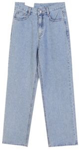 Roble Wide Denim PT