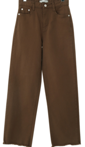 Brownie cutting wide pants