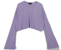Cropped noma wide T-shirt