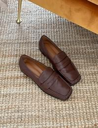 Hazel Square Penny Loafers