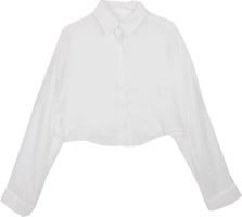 Pearl cropped shirt