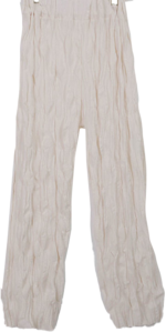 Wrinkle anime wide pants