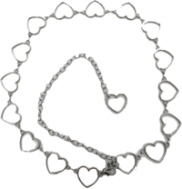 Heart Chain Belt