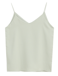 Double-sided V Sleeveless