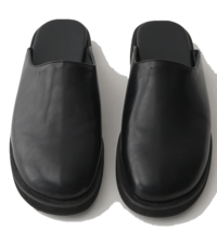 semi wide round bloafer shoes