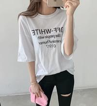 Off Loose Fit Short Sleeve T-shirt #106971