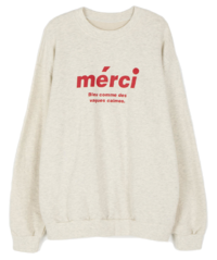 Mercy printed sweatshirt