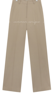 LIDEN WIDE LONG SLACKS