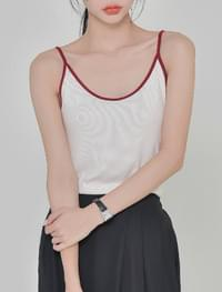 Rose color sleeveless