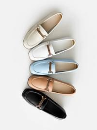 Luquet leather height loafers 4 cm