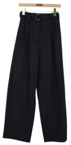 Able pintuck trousers