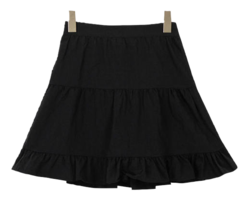 Frill L-L mini skirt