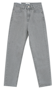High gray jeans