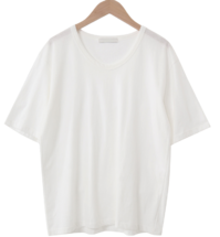 Loft Short Sleeve U-neck T-shirt 短袖上衣