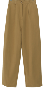 Noncoming Pintuck Banding Slacks