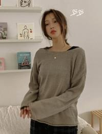 Drop Shoulder Two-Way Fleet Fit Cardigan