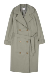Moment Unbald Cape Trench Coat 大衣外套