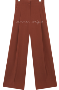 Basic Wide Leg Slacks