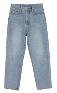 New light straight jeans