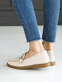 Teddy's leather loafers 2 cm
