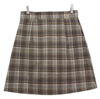 Ms. check skirt