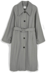 Big Kara Nagrand wool single coat