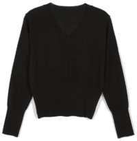 Tension V-neck knit