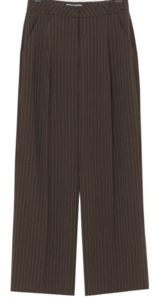Lost Stripe Wide Slacks