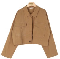 As crop jacket