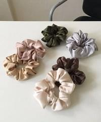 fall mood scrunchie