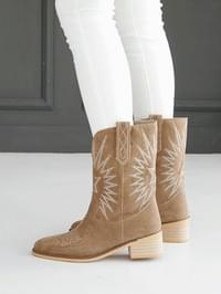 Sief Western Middle Boots 5cm