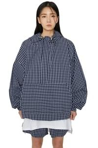 Million Check Hooded Anorak Jacket
