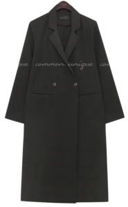 BRENTO DOUBLE LONG COAT