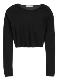 Miss Slim Padded Crewneck T-shirt