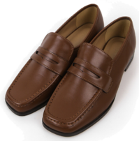 Bay stitch classic loafers
